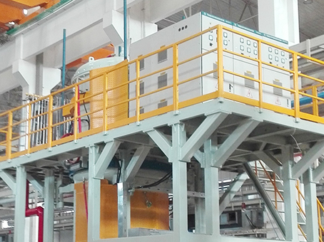 High temperature oxidation resistant coating furnace