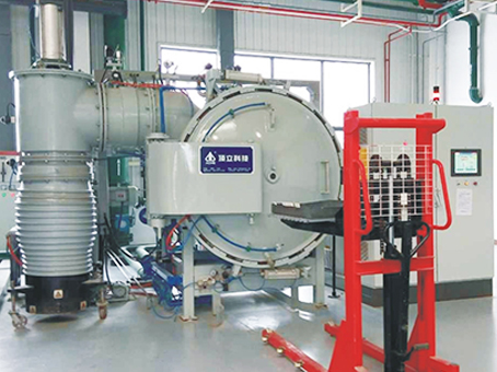 High vacuum tempering furnace