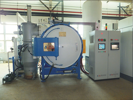 Metal screen welding furnace