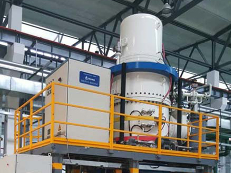 Vertical vacuum annealing furnace